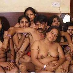 Group of naked indian girls
