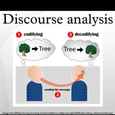 15 discourse analysis Discourse analysis is in vogue as a field of enquiry, particularly in the guise of critical discourse analysis, which employs procedures not essentially different from literary criticism to.