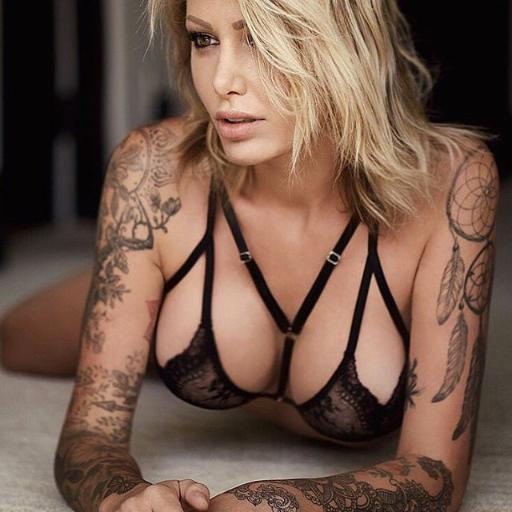 Aura surber on twitter sexy sexymodel for Nude women tattoo