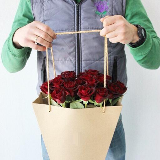 цветы в пакете фото