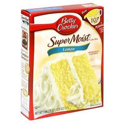 Duncan Hines Yellow Cake Mix Uk