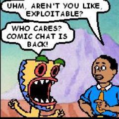 Comic Chat Daemon on Twitter: