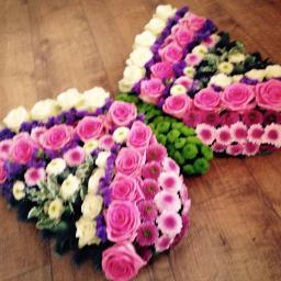 Delivery of funeral flowers in London