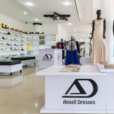 Ansell dresses and fashions