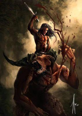 Chrysaor Greek Mythology