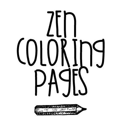 Zen Coloring Pages On Twitter Free Adult Colouring In Printable