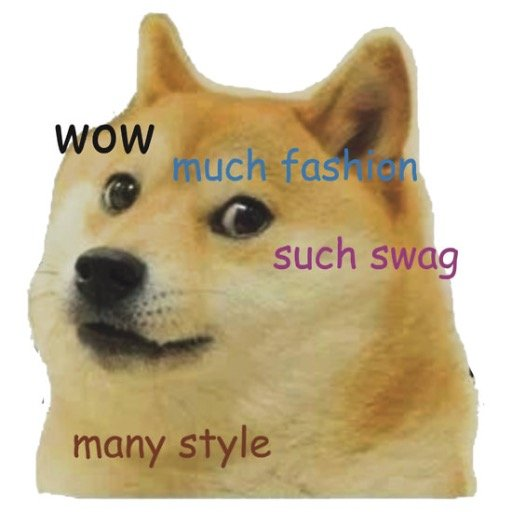 how to say doge meme