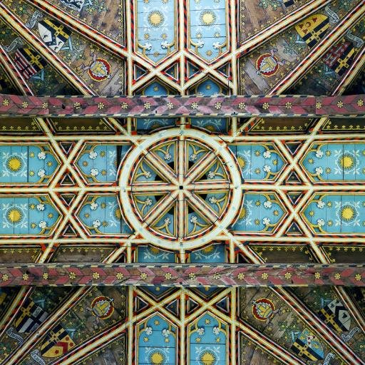 Resultado de imagen de ceiling of the choir at Saint David's cathedral, Pembrokeshire