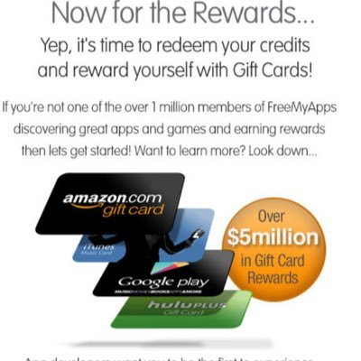 FreeMyApps GiftCards (@Free_cards_free) | Twitter