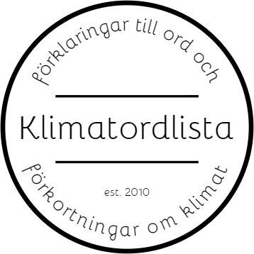 Klimatordlista on 1148