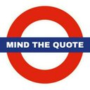 Mind the #Quote