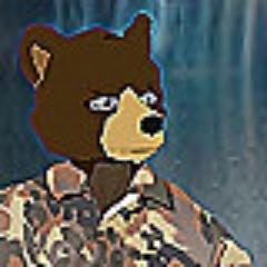 """⬤ Wolf """"Dr. Strange-bear"""" Baginski"""
