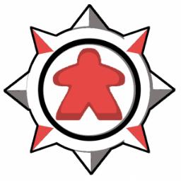 Meeplestone 開場しました 酒場の親父とチームロゴが目印です