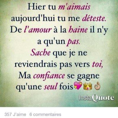 citation d 'amour on Twitter: