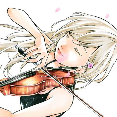 気持ちよさそうにヴァイオリンを演奏する宮園かをり