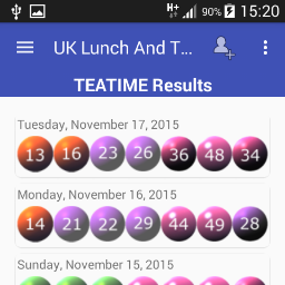 Droid In Motion On Twitter New Version Of The Uk 49s Lunch Tea