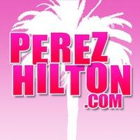 Perez Hilton twitter profile