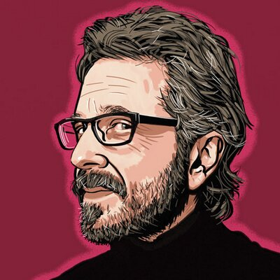 marc maron (@marcmaron) Twitter profile photo