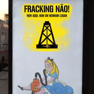 Resultado de imagem para fracking não