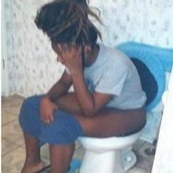 Sorry, black girl pooping on toilet