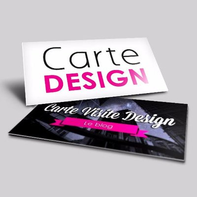 Carte Visite Design On Twitter Realisez Une CarteDeVisite