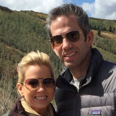 Shannon Bream with her husband Sheldon Bream