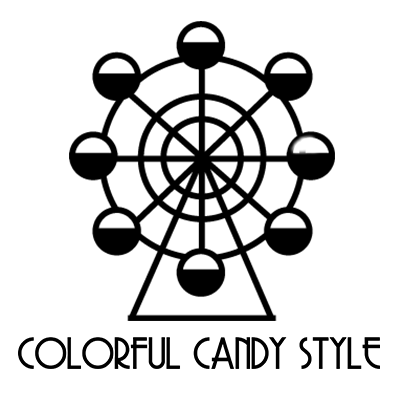 colorful candy style cc style twitter