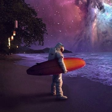 """Dope Wallpapers on Twitter: """"Surfing astronaut wallpaper # ..."""