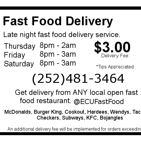 Late Night Food Delivery Greenville Sc