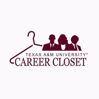 tamu career closet askcareercloset twitter