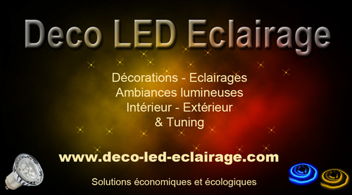 Deco led eclairage decoledeclairag twitter for Led a pile pour deco