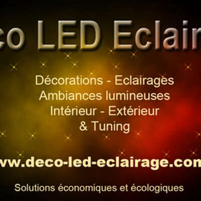 deco led eclairage decoledeclairag twitter. Black Bedroom Furniture Sets. Home Design Ideas