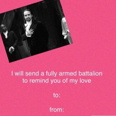 Hamilton Valentines
