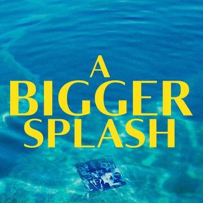 A bigger splash biggersplashuk twitter for A bigger splash movie