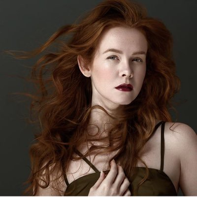 Anthropologie redhead model