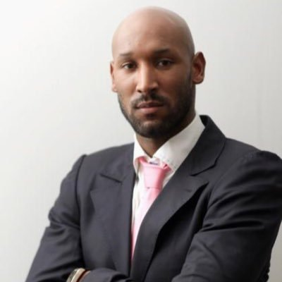 The 38-year old son of father  Jean-Philippe Anelka and mother Marguerite Anelka, 184 cm tall Nicolas Anelka in 2017 photo