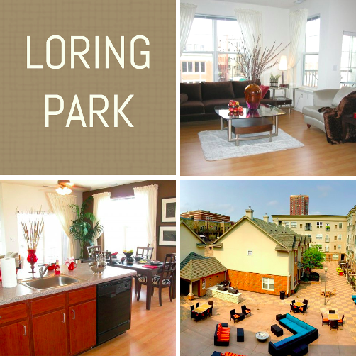 "Loring Park On Twitter: ""Check Out Our Two Bedroom"