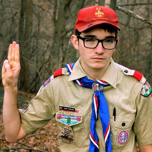Content creator and author of the Gay Scout Podcast