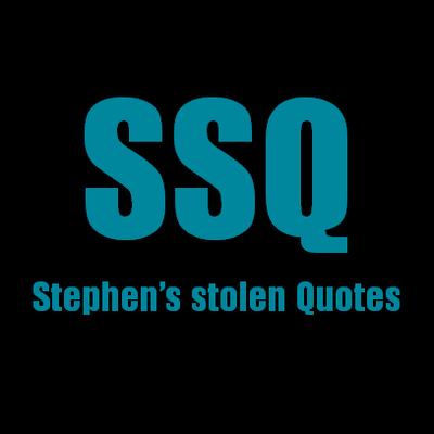 Stephen Stolen Quote SRStolenquotes Twitter Custom Sso Quote