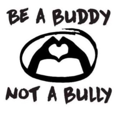 Image result for be a buddy, not a bully