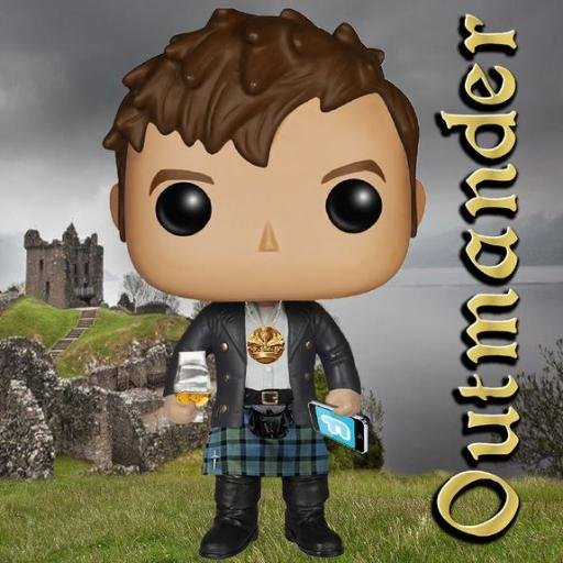 Connecting men with Outlander, the STARZ series. What's not to like? Men - read the books!