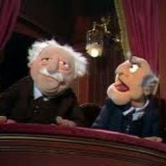Statler and waldorf firedstatwald twitter for Balcony muppets