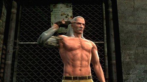 Metal Gear Solid 4: Guns of the Patriots - Solid Snake vs. Liquid ...