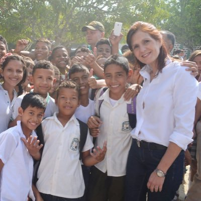 Rosa cotes - Primera mujer gobernadora electa en la historia del departamento del Magdalena. Periodo 2016 - 2019