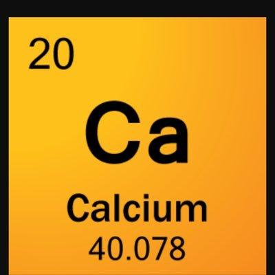 Calcium on twitter my name is calcium my symbol is ca my atomic calcium on twitter my name is calcium my symbol is ca my atomic number is 20 and my atomic mass is 40078 iminbones urtaz Images