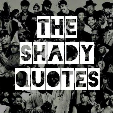 The Shady Quotes (@the_shadyquotes) | Twitter