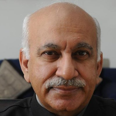 Image result for MJ Akbar  images