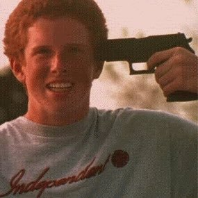 Anal dildo redhead