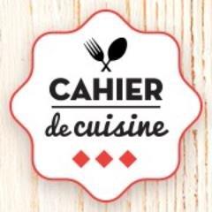 Cahier de cuisine cahierdecuisine twitter - Cahier de cuisine a remplir ...