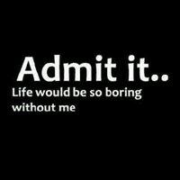 Admit it...